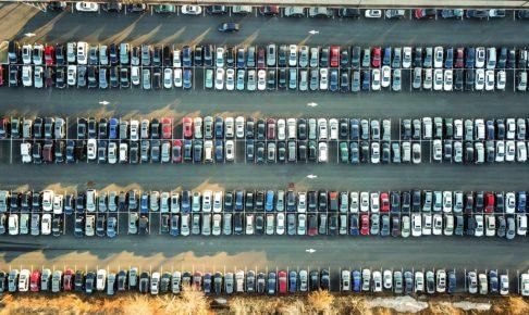 駐車場 上から