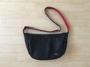 ポーターのナイロンショルダーバッグ