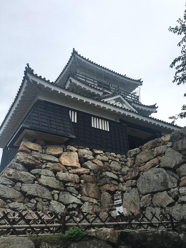 浜松城天守閣と石垣