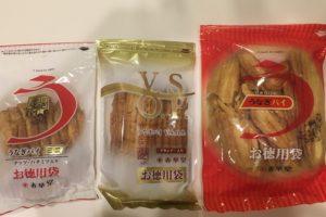 うなぎパイお徳用袋3種類