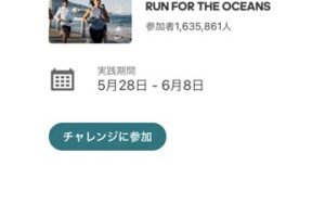 run for the oceansへ参加する