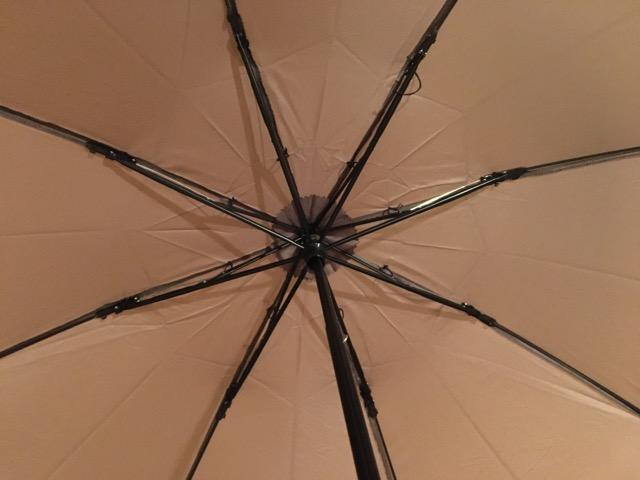 スノーピーク傘の親骨は8本