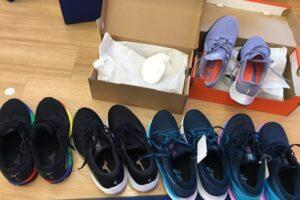 ゼビオで試着させてもらった靴たち