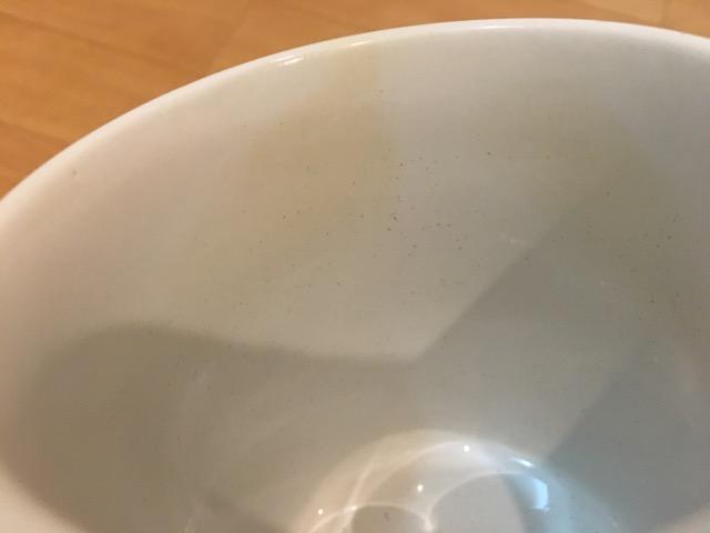 マグカップのコーヒー茶渋が取れた!