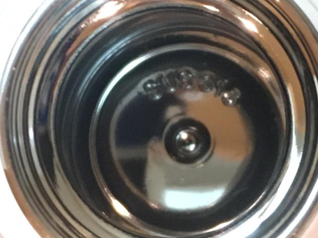 ステンレスボトル水筒つけおき洗い後